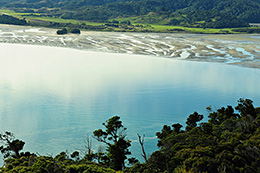 looking out to the whanganui inlet tasman